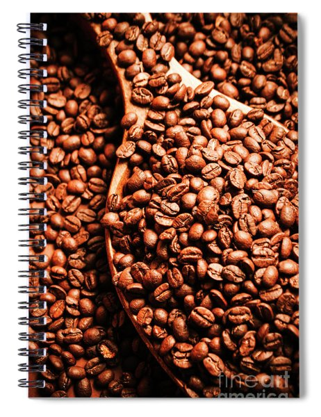 Just One Scoop At The Coffee Brew House  Spiral Notebook