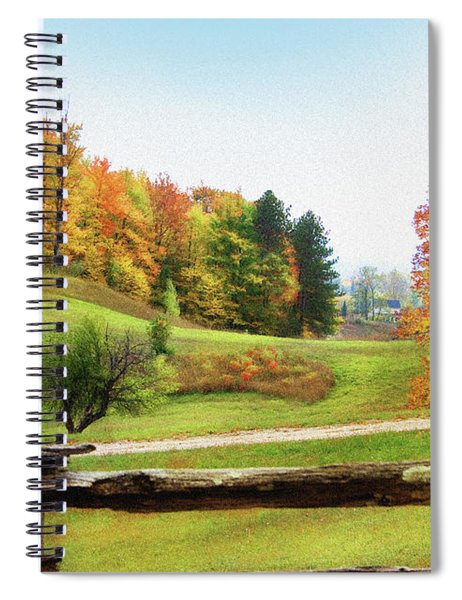 Just Over The Next Ridge Spiral Notebook