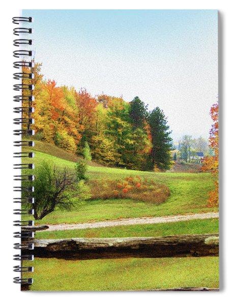 Just Over The Next Ridge Spiral Notebook