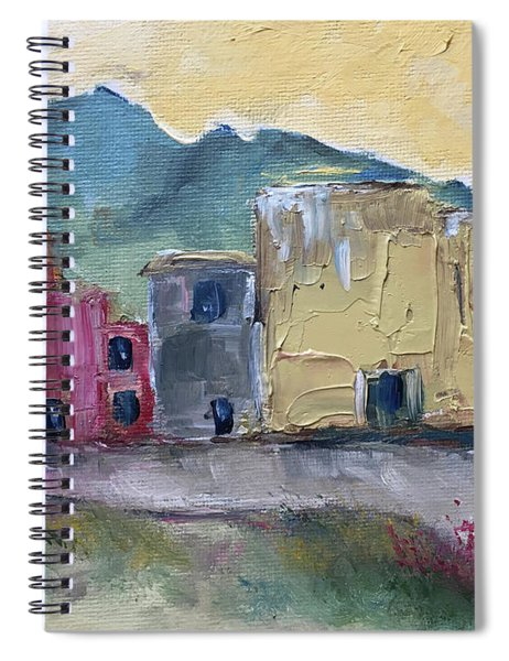 Just Passing Through Spiral Notebook