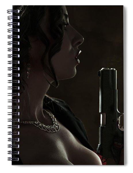 Just Shot That 45 Spiral Notebook