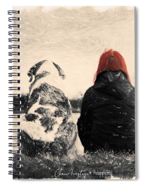 Just Sitting In The Morning Sun Spiral Notebook