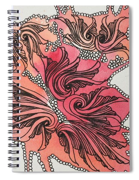 Just Wing It Spiral Notebook