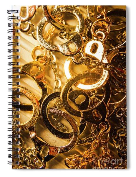 Justice Is Golden Spiral Notebook
