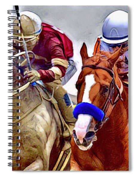 Justify In The Lead Spiral Notebook