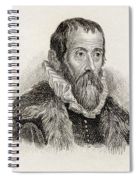 Justus Lipsius Aka Joost Lips Or Josse Spiral Notebook