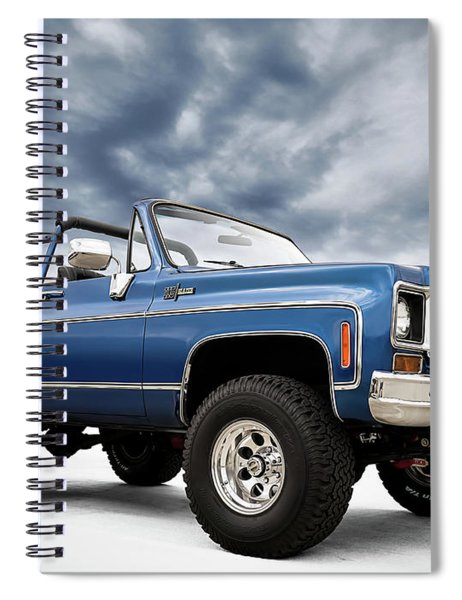 K5 Blazer Spiral Notebook