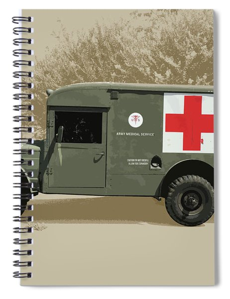 Kaiser Jeep M725 Army Spiral Notebook