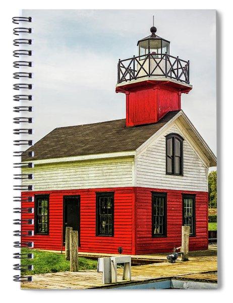 Kalamazoo Lighthouse Spiral Notebook