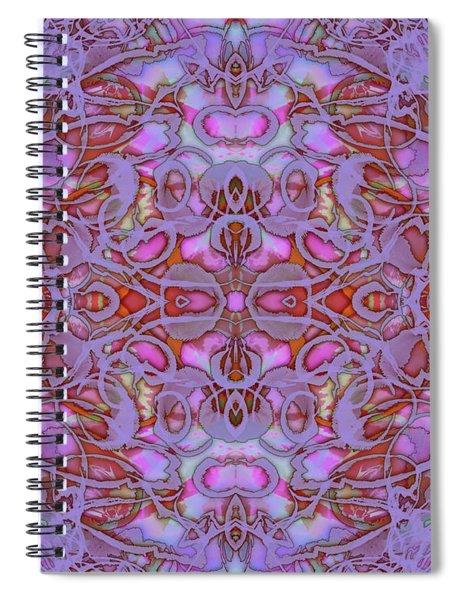 Kaleid Abstract Focus Spiral Notebook