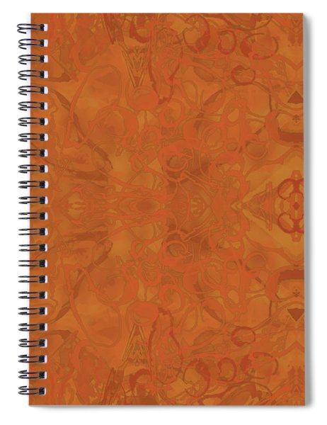 Kaleid Abstract Moroccan Spiral Notebook
