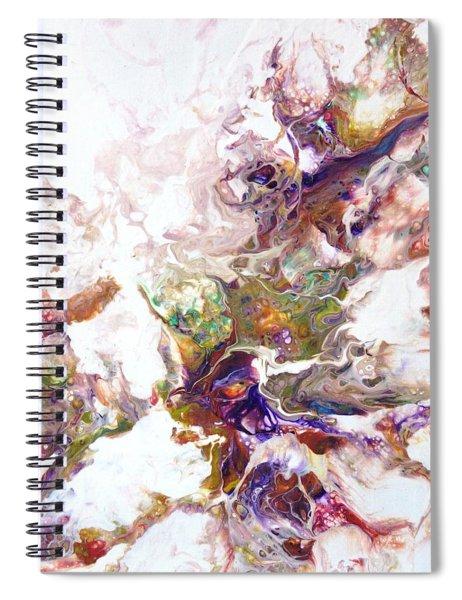 Kaleidescope Of Color Spiral Notebook