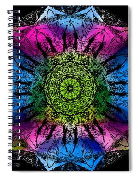 Kaleidoscope - Colorful Spiral Notebook