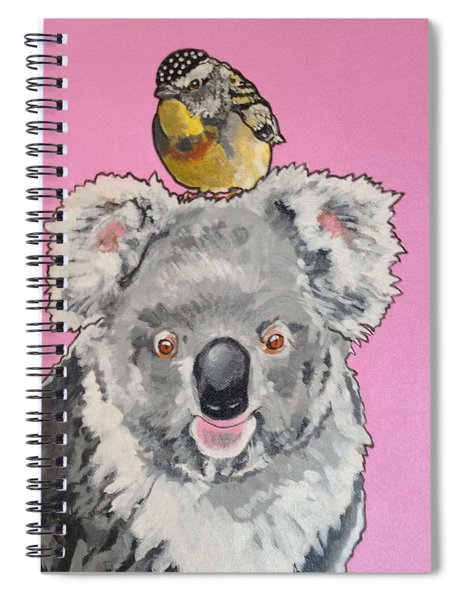 Kalman The Koala Spiral Notebook