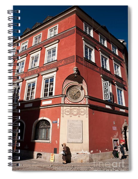 Kamienica Simonettich Building Spiral Notebook
