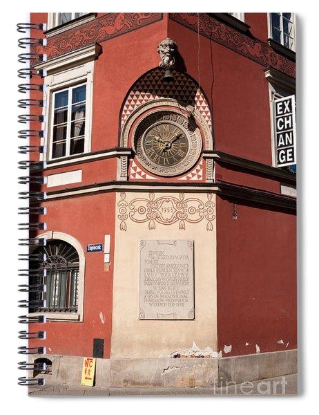 Kamienica Simonettich Clock Spiral Notebook