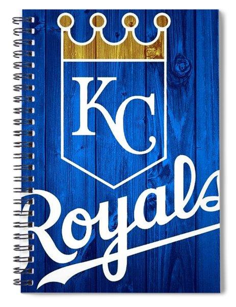 Kansas City Royals Barn Door Spiral Notebook
