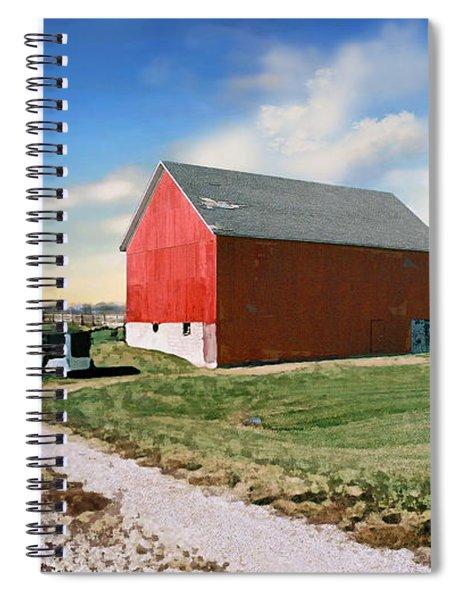 Kansas Landscape II Spiral Notebook