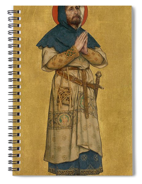 Blessed Charles The Good  Spiral Notebook
