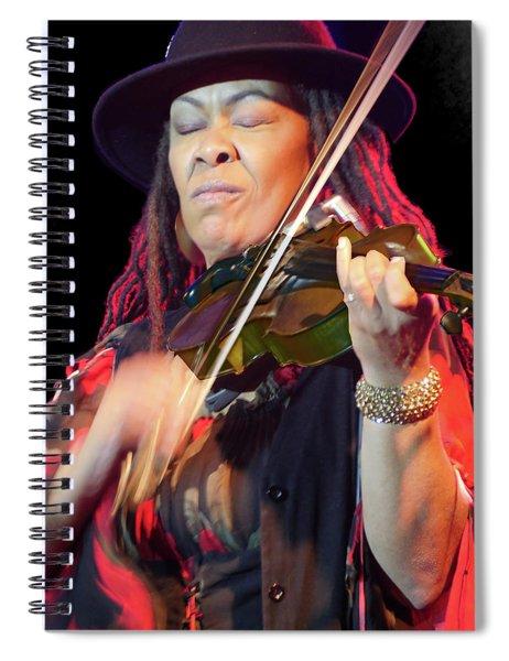 Karen Briggs 2017 Hub City Jazz Festival - In The Moment Spiral Notebook