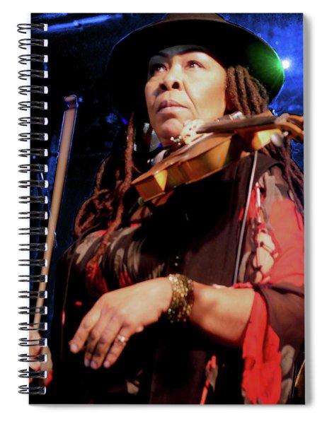 Karen Briggs 2017 Hub City Jazz Festival - Pause Spiral Notebook