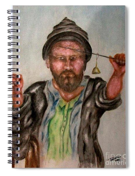 Kashmiri Spiral Notebook