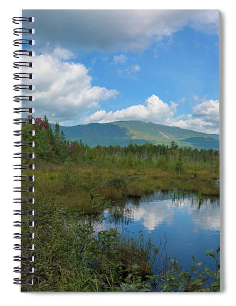 Katahdin In The Clouds Spiral Notebook