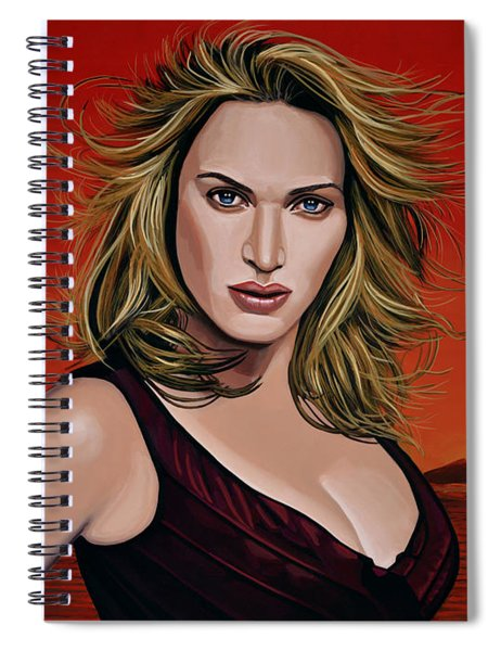 Kate Winslet Spiral Notebook