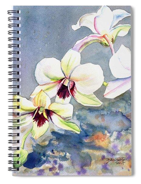 Kauai Orchid Festival Spiral Notebook
