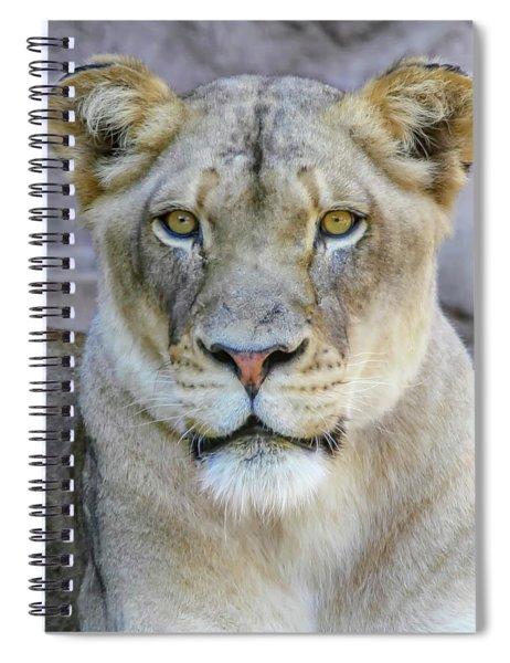 Kaya Portrait Spiral Notebook