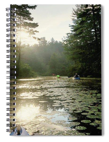 Kayaking Spiral Notebook