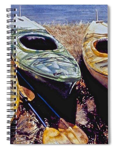 Kayaks Spiral Notebook