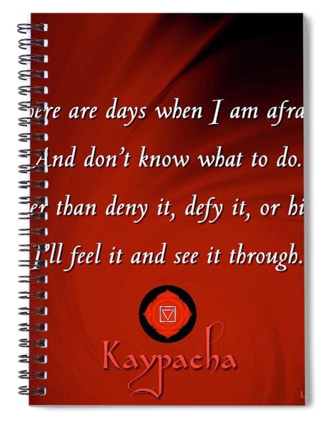 Kaypacha - July 4, 2018 Spiral Notebook