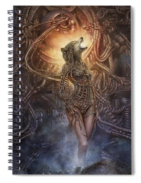 Kebechets Rebirth Spiral Notebook