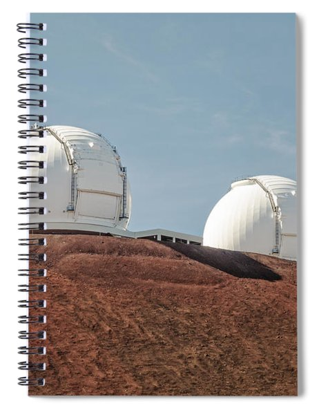 Keck 1 And Keck 2 Spiral Notebook