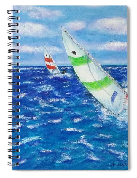 Keeling Spiral Notebook