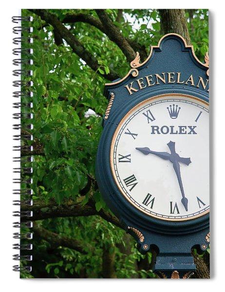Keeneland Clock Spiral Notebook