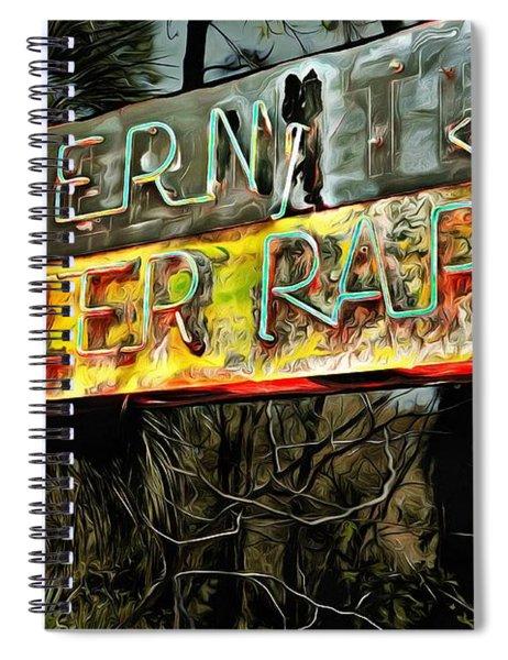 Keep Driving Spiral Notebook
