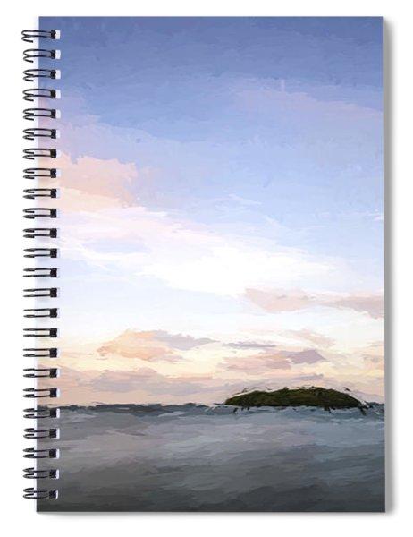 Keep Moving Around II Spiral Notebook