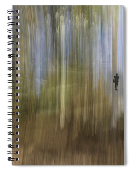 Keep Walking Spiral Notebook