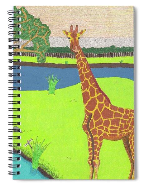 Keeping A Lookout Spiral Notebook
