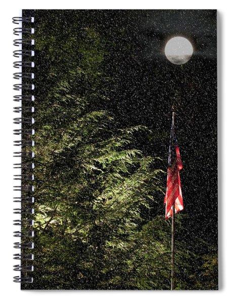 Keeping America  Illuminated.  Spiral Notebook