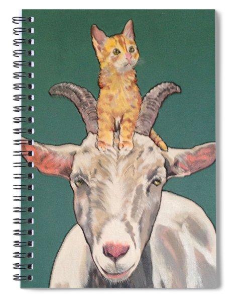 Keira The Kitten Spiral Notebook