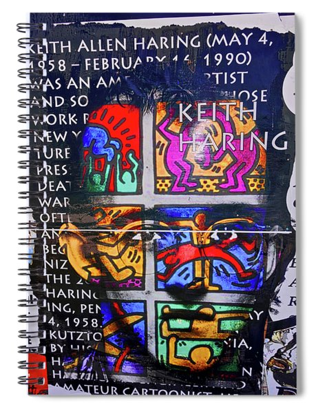 Keith Haring  Spiral Notebook