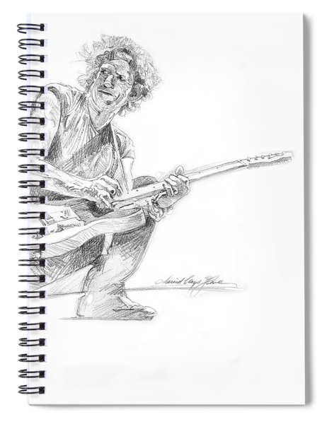 Keith Richards  Fender Telecaster Spiral Notebook