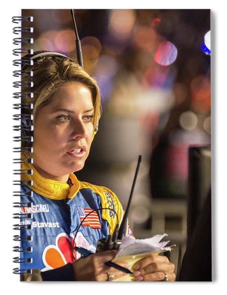 Kelli Stavast Reporting Spiral Notebook