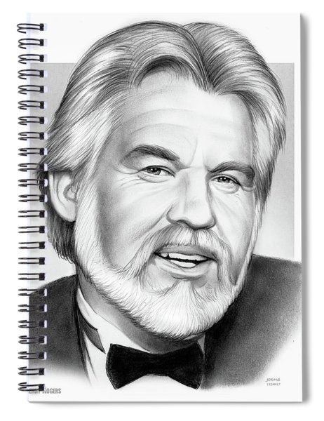 Kenny Rogers Spiral Notebook
