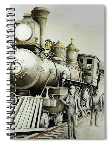 Kentucky Iron Horse Spiral Notebook
