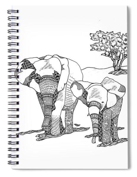 Kenyan Walk Spiral Notebook