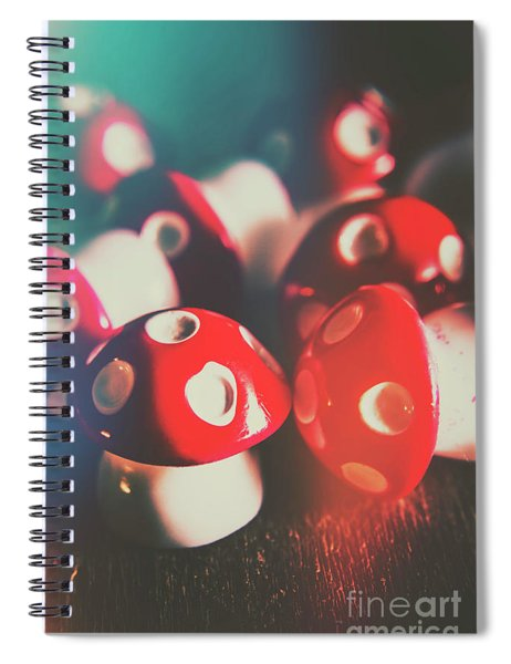 Kept Out In The Dark Spiral Notebook